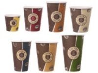 Coffee to go Becher, 250 ml,  Topline Slim, 1000 Stück