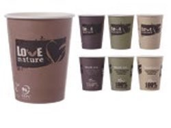 Bio Coffee to go Becher, 200 ml,  1600 Stück