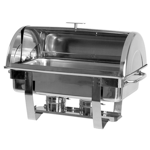 Chafing Dish GN 1/1 mit Roll-Top Deckel